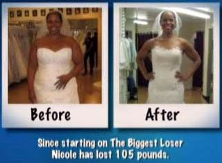 Nicole Brewer before and after pics