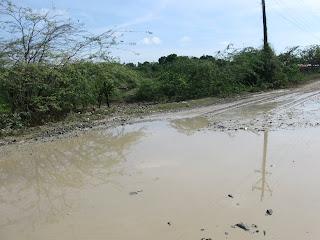 Manzanillero: unete,reclama,participa, por el arreglo de la carretera Copey-Manzanillo