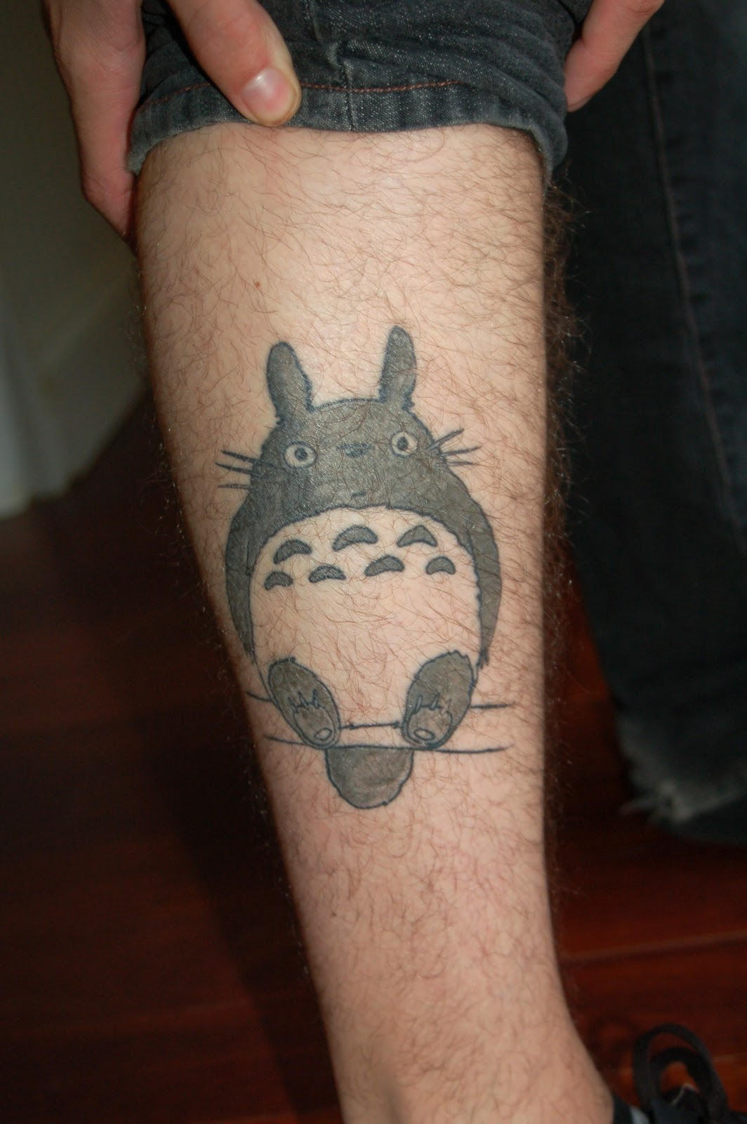 my neighbour totoro arm tattoo fresh tattoo ideas. Black Bedroom Furniture Sets. Home Design Ideas