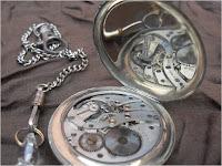 Koleksi antik jam saku Swiss