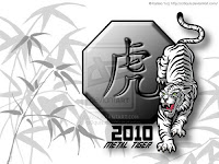 2010 Chinese Tiger New Year Wallpapers