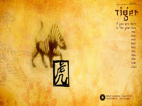 chinese year of tiger wallpaper