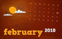 february 2010 calendar wallpaper