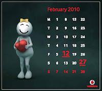 ZooZoo 2010 February Calendar