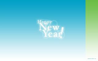 New Year Widescreen Wallpaper