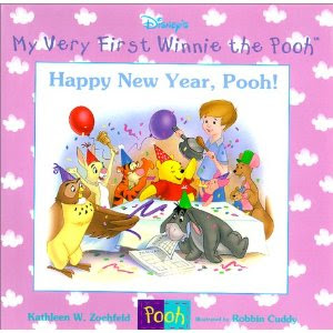 Pooh New Year Walt Disney Wallpaper