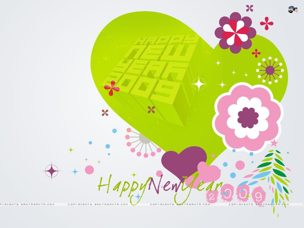 New Year Wallpapers: New Year Love Wallpapers, Happy New ...