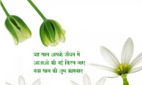 new year hindi greetings wallpaper