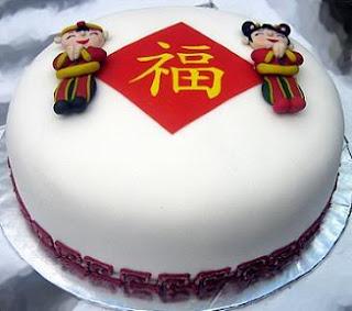 Chinese New Year Cake Wallpaper