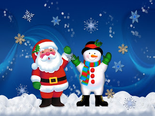 Free Santa Claus New Year Wallpaper