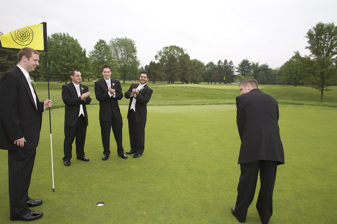 Golfing Groom