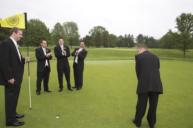Golfing Groom