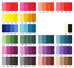 Ymmyarns Colour Range - to be revised May 2015