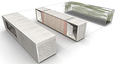 Arquitectura arquidea casas contenedores o casas modulares - Casas modulares minimalistas ...