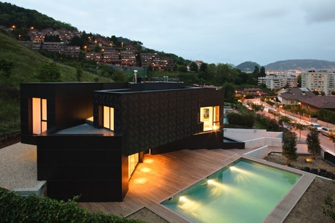 Arquitectura arquidea arquitectura de casas - Casas minimalistas en espana ...