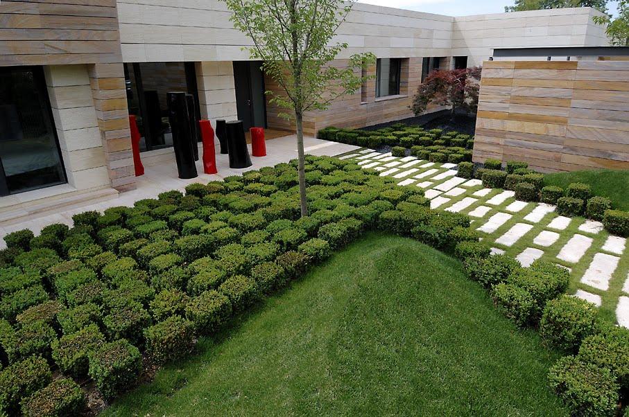 Arquitectura y dise o por a cero casa minimalista - Paisajismo minimalista ...