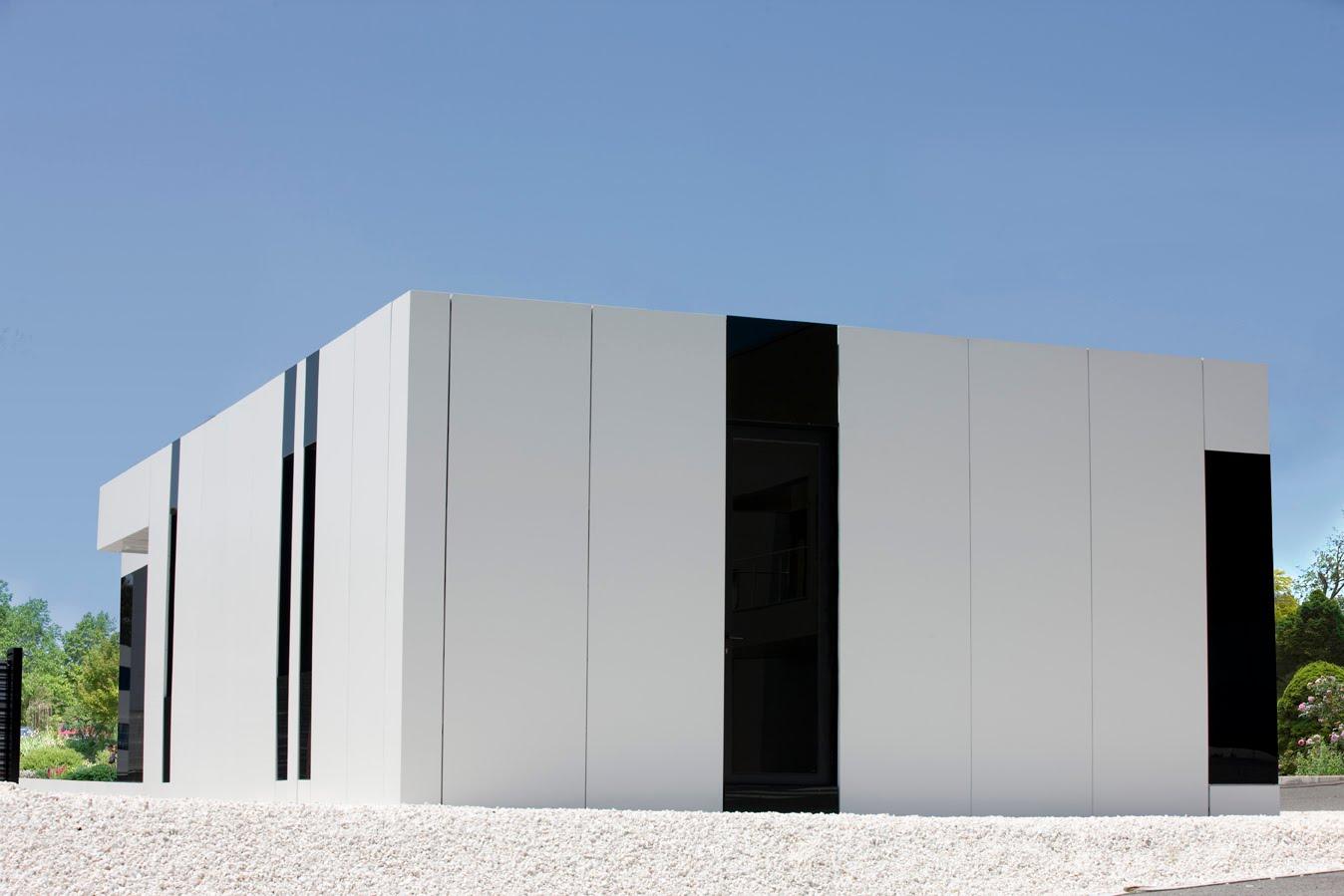 Cube Home Modern White Design