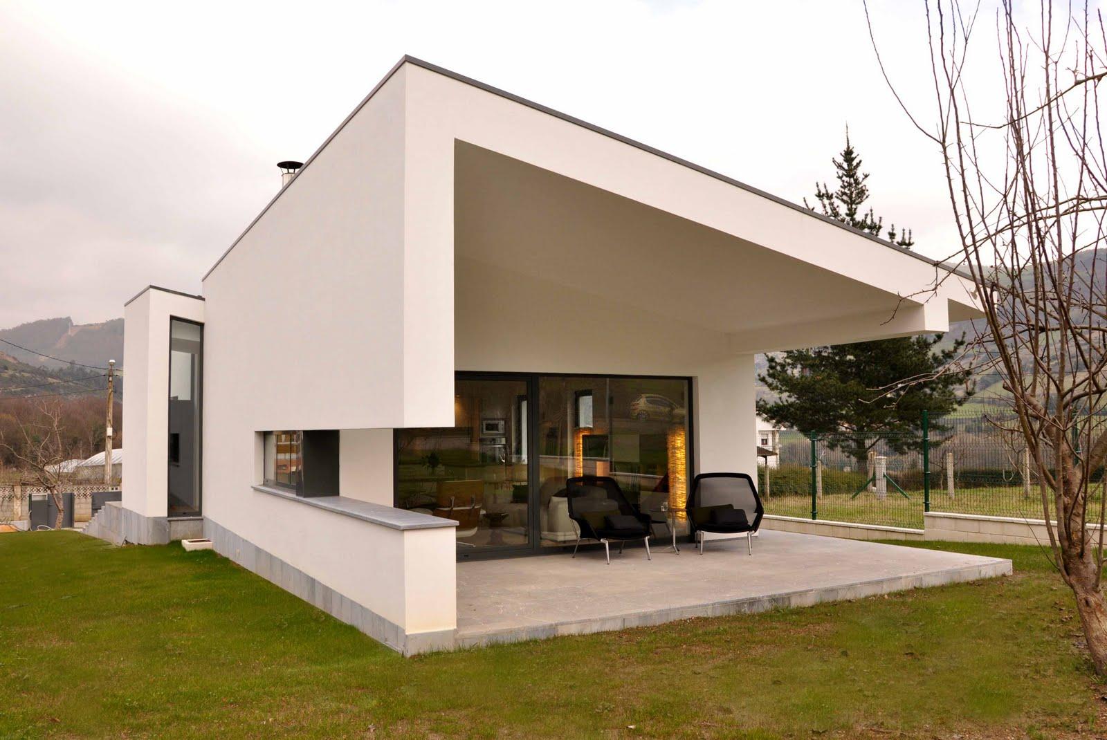 arquitectura arquidea vivienda unifamiliar en sandiche ForViviendas Minimalistas
