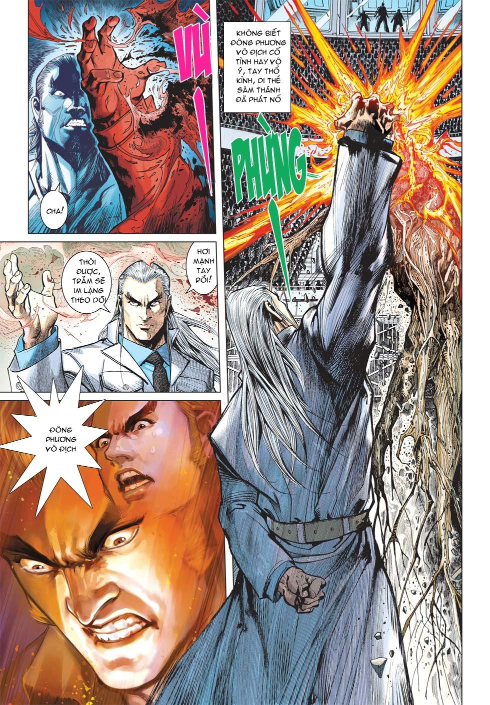 Vương Phong Lôi 1 chap 27 - Trang 12