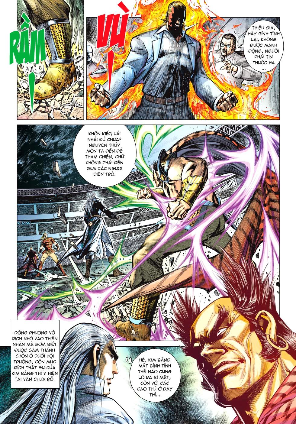 Vương Phong Lôi 1 chap 27 - Trang 13