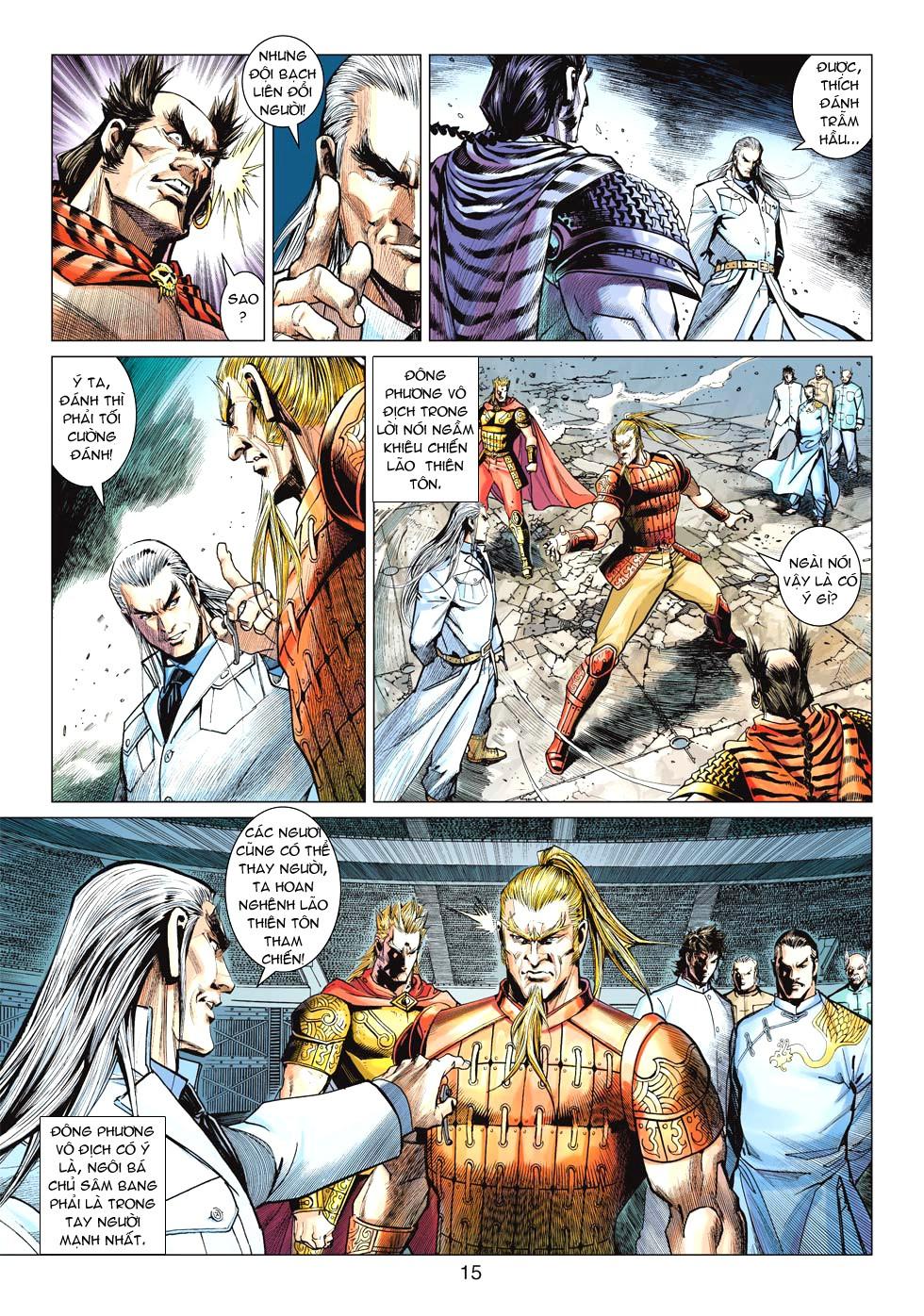 Vương Phong Lôi 1 chap 27 - Trang 14