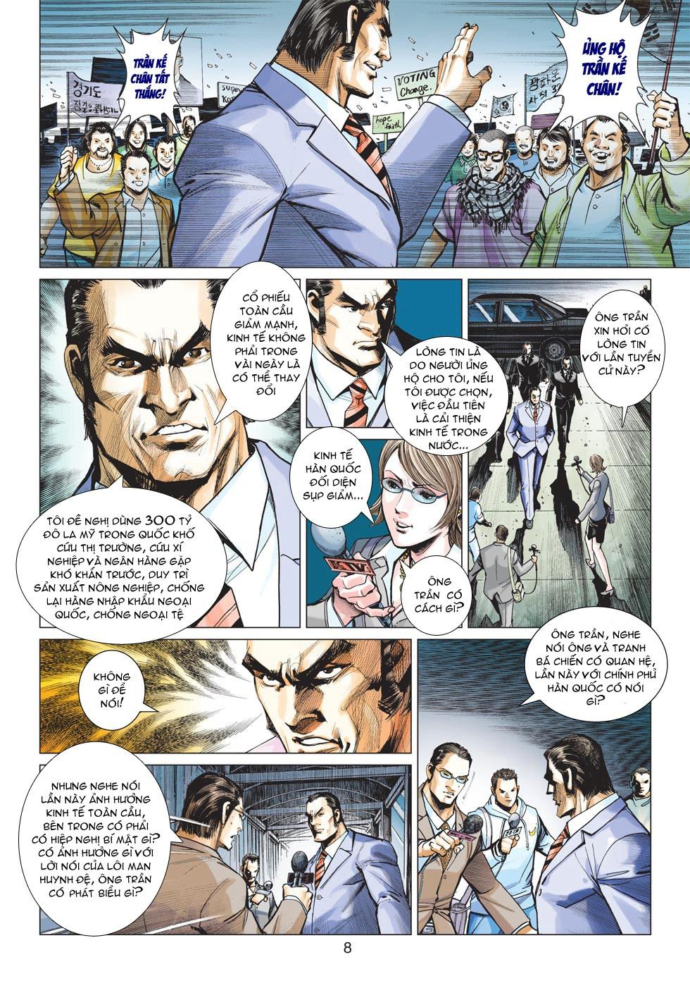 Vương Phong Lôi 1 chap 27 - Trang 7