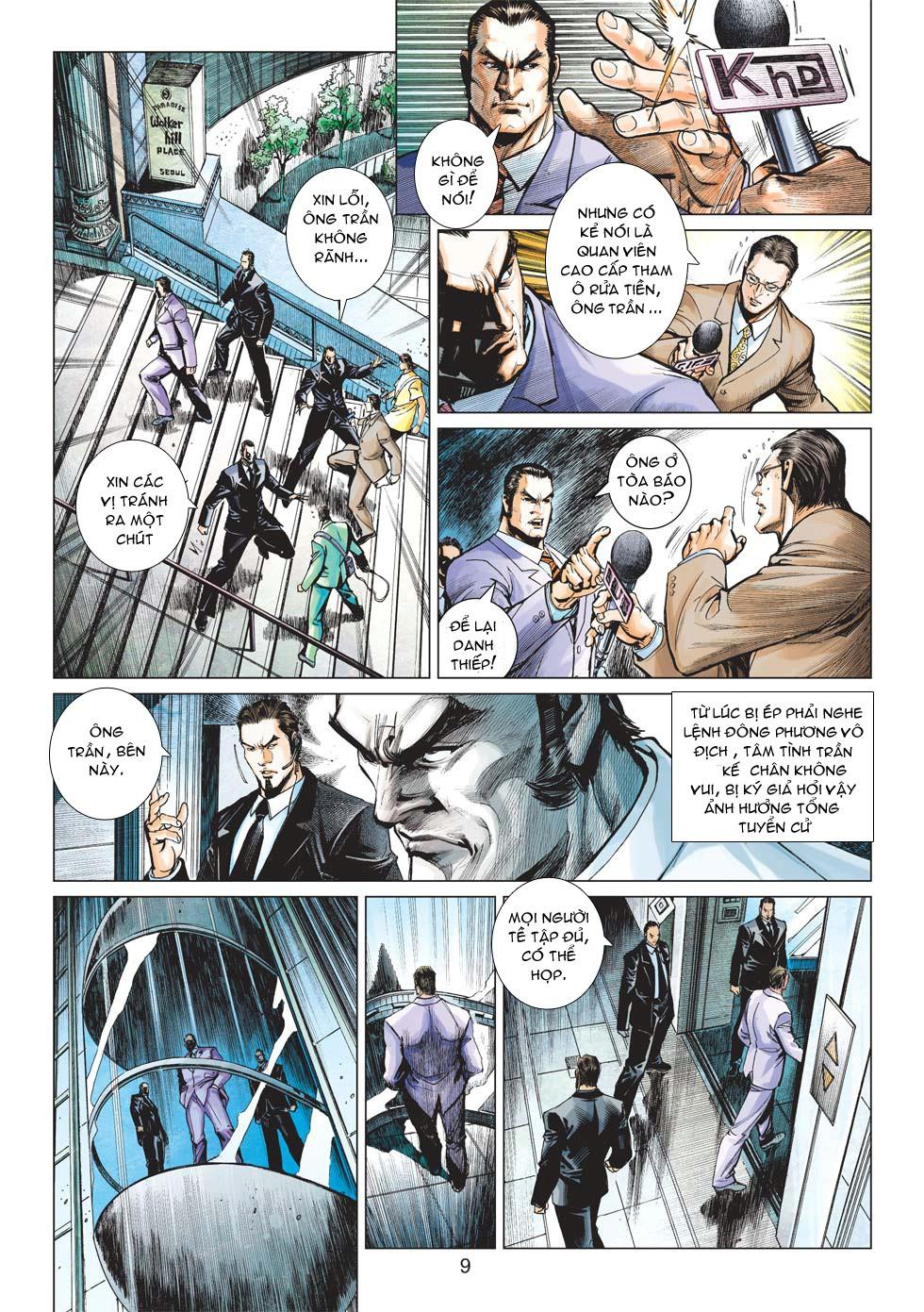 Vương Phong Lôi 1 chap 27 - Trang 8