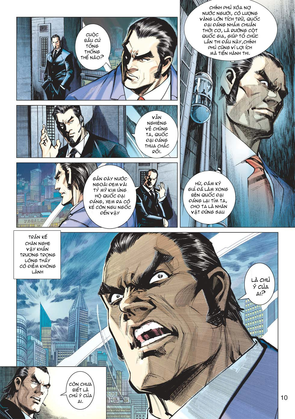 Vương Phong Lôi 1 chap 27 - Trang 9