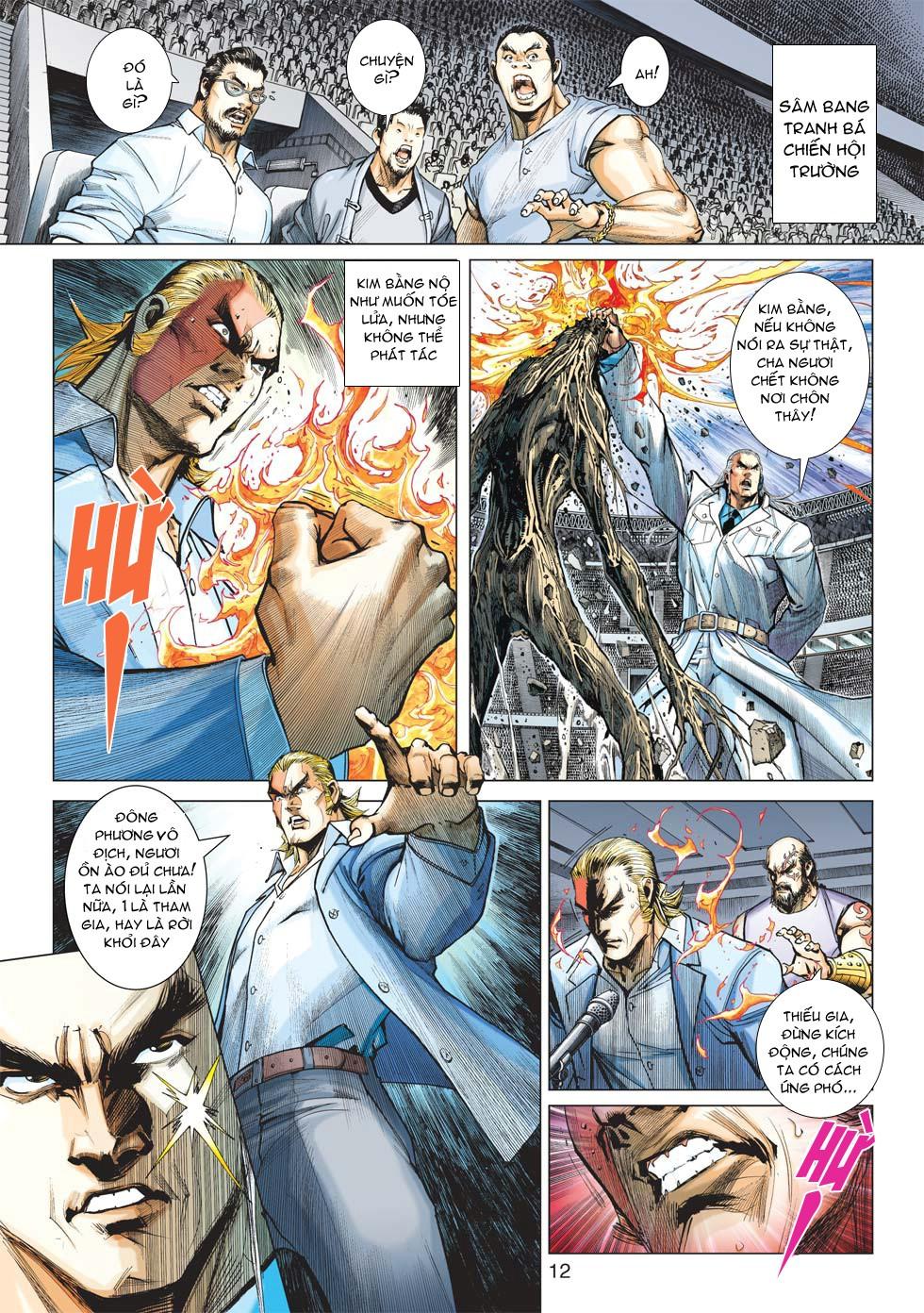 Vương Phong Lôi 1 chap 27 - Trang 11