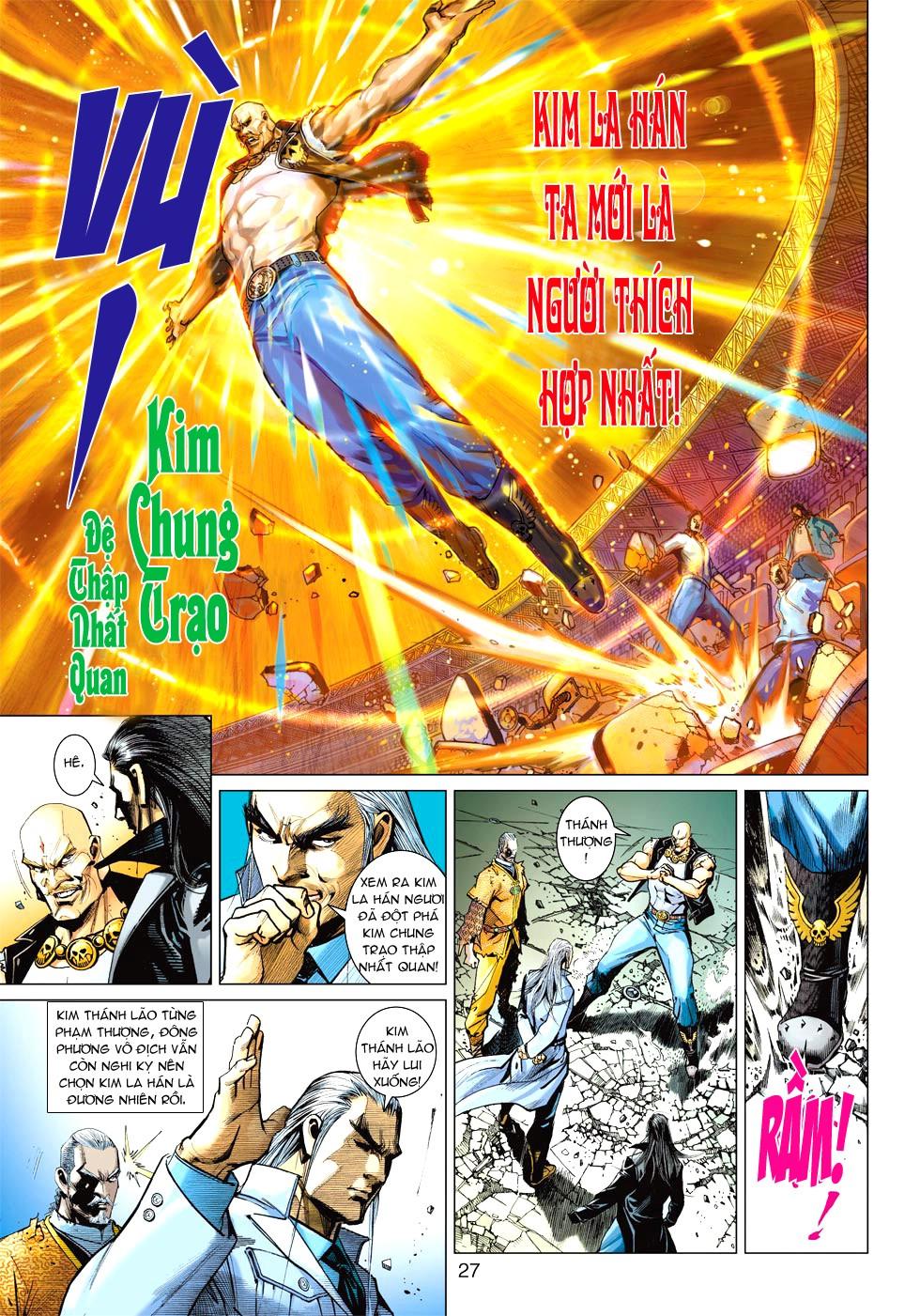 Vương Phong Lôi 1 chap 27 - Trang 24