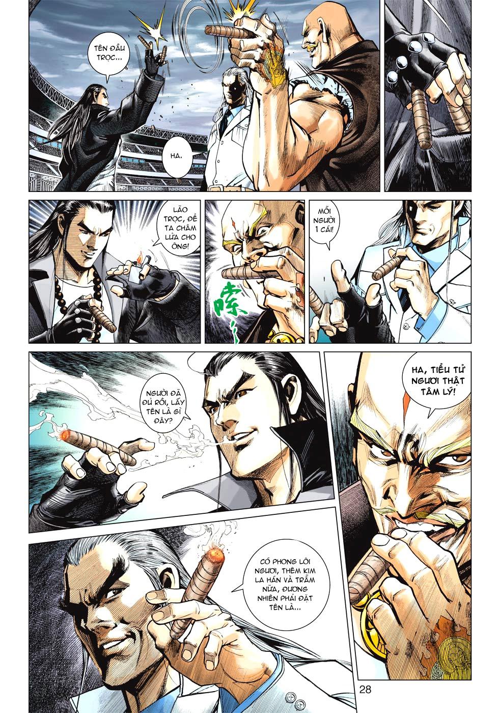 Vương Phong Lôi 1 chap 27 - Trang 25