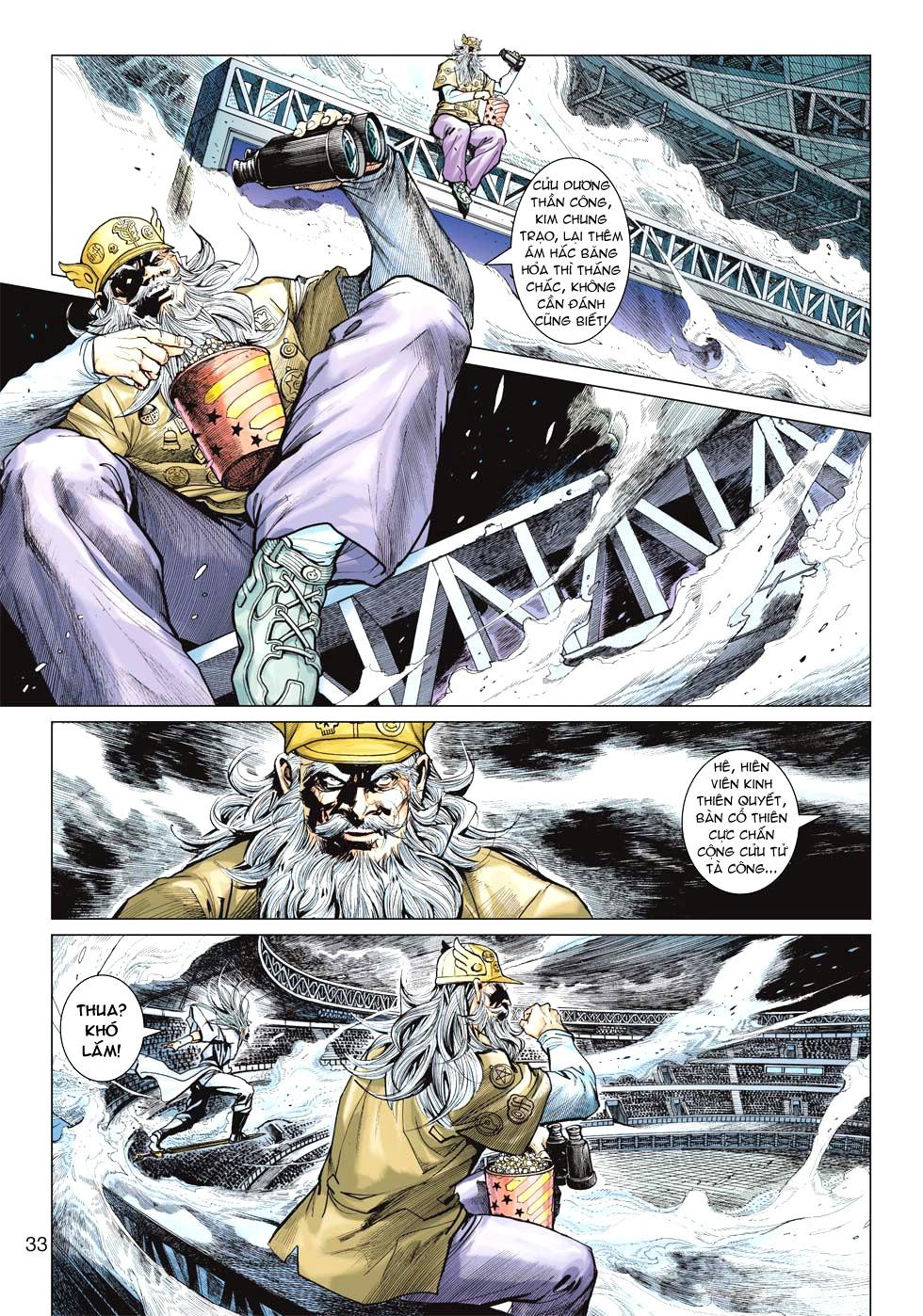 Vương Phong Lôi 1 chap 27 - Trang 30