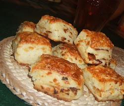 Hagymás sajtos kocka