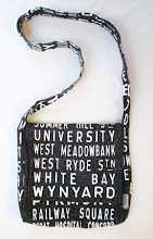 Destination satchel printed with water based dye - sorry sold out