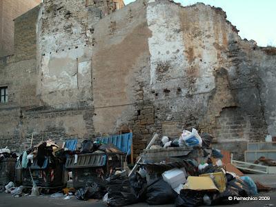 Palermo, Sicilia, suciedad, viajes