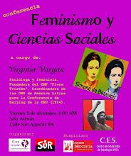CONFERENCIA DE GINA VARGAS: FEMINISMO Y CIENCIAS SOCIALES