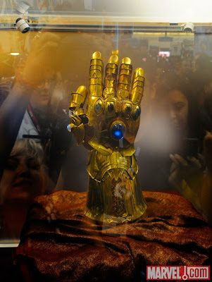 Infinity Gauntlet Replica Revealed at The San Diego Comic Con
