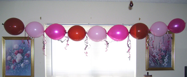 How to make balloon garland decorations for your next for Balloon decoration how to make