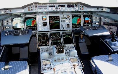 Airbus A380 Cockpit 1680 X 1050 Widescreen Wallpaper