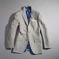 Hickey sheersucker sportcoat