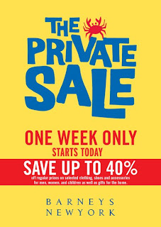 barneys private sale