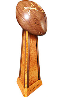 ultimate fantasy football trophy