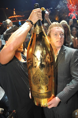 world's largest bottle of champagne