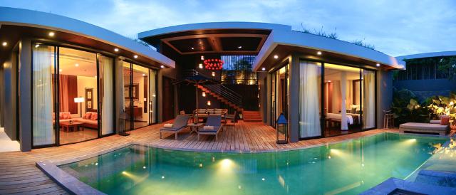 G luxe v villas hua hin thailand for Design hotel hua hin