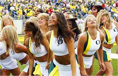 hot oregon ducks cheerleaders