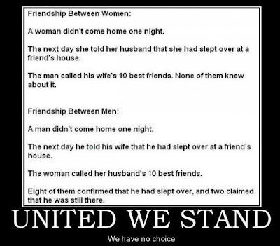 guy friends lie to wife