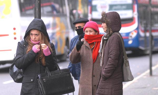 La temperatura más baja de marzo en 22 años