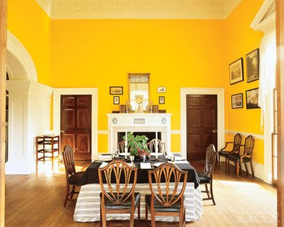 Monticello Dining Room Color