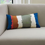 Water Stripe Pillow Cover