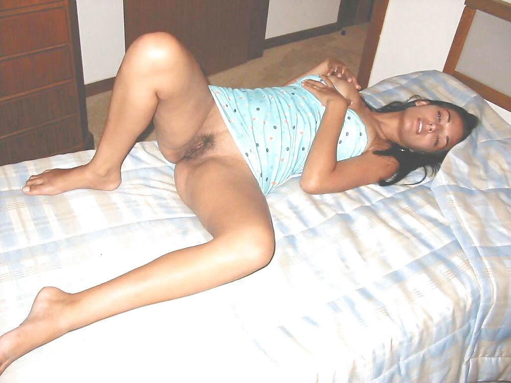 indian woman nude on bed